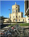 SP5007 : Bikes Outside The Observatory by Des Blenkinsopp