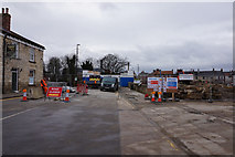 SE4843 : Road closed at Tadcaster  over the River Wharfe by Ian S