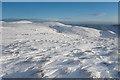 NN8701 : On the Ochils in winter by Doug Lee