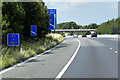 SK3599 : Northbound M1 Approaching Junction 36, Tankersley by David Dixon