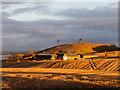 NH6953 : Castleton Farm and Ormond Hill by Julian Paren