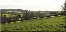 ST7156 : Houses on Barn Hill by Derek Harper
