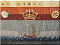 NS7894 : Altar Cloth at the Chapel Royal, Stirling by M J Richardson