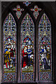 TA0339 : Stained glass window s.II, St Mary's church, Beverley by Julian P Guffogg