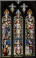 TA0339 : Stained glass window s.V, St Mary's church, Beverley by Julian P Guffogg