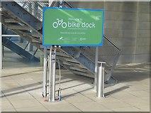 NZ4057 : The Bike Dock workstation by Oliver Dixon