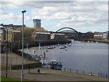 NZ4057 : Noble's Quay, Sunderland by Oliver Dixon