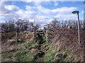 SK4729 : Footpath level crossing by Ian Calderwood