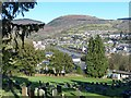 ST2390 : Looking over Risca by Robin Drayton