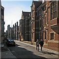 TL4458 : Along Queens' Lane by John Sutton