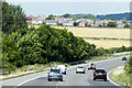 SE3008 : M1 Motorway near to Kexbrough by David Dixon