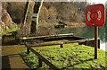 ST7661 : Fishing platforms, Tucking Mill Reservoir by Derek Harper