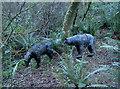SS9639 : Bears in the wood by Neil Owen