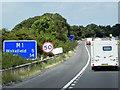 SE3015 : Northbound M1 near to Crigglestone by David Dixon