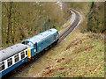 SD7915 : East Lancashire Railways Class 40 Diesel Locomotive at Brooksbottoms by David Dixon