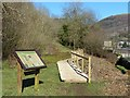 ST2390 : New boardwalk, Dan-y-graig Nature Reserve, Risca by Robin Drayton