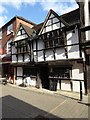 SO8554 : Timber-framed building, Friar Street by Philip Halling