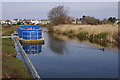 SD4665 : Canal maintenance, Hest Bank by Ian Taylor