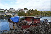 SX5053 : Boat, Billacombe Brook by N Chadwick