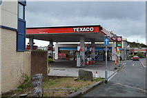 SX5054 : Texaco filling Station by N Chadwick