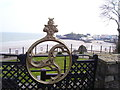 SN1300 : Old Pier Railings reused at the Croft Tenby by welshbabe