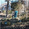 NJ8300 : Peterculter village sign by Bill Harrison