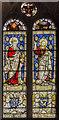 SE8904 : Stained glass window n.II, Holy Trinity church, Messingham by Julian P Guffogg