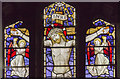 SE8904 : Stained glass window, Holy Trinity church, Messingham by J.Hannan-Briggs