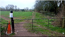 SO4841 : Footpath to Three Elms Road by Jonathan Billinger
