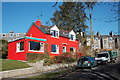 NJ8400 : Bright red house by Bill Harrison