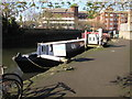 TQ1777 : Freedom, narrowboat on Grand Union canal at Brentford by David Hawgood