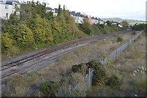SX4854 : Railway lines by N Chadwick