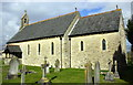 SP4114 : Christ Church, Witney Road by Roger Templeman