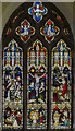 SK8475 : East window, Ss Peter & Paul church, Kettlethorpe by Julian P Guffogg