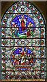 SK8475 : Stained glass window, Ss Peter & Paul church, Kettlethorpe by Julian P Guffogg