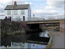 SO9494 : Hill's Bridge near Deepfields, Coseley, Dudley by Roger  Kidd