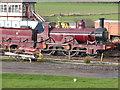 SK4151 : Midland Railway Centre - historic locomotive by Chris Allen