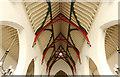 TQ3976 : All Saints, Blackheath - Nave roof by John Salmon