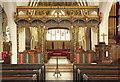 TQ3976 : All Saints, Blackheath - Screen by John Salmon