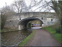 TQ1683 : Canal bridge 13 at Perivale by John Slater