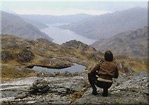 NM9095 : Towards Loch Nevis from Druim nan Uadhag by Alan Reid
