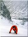 NN1671 : Ascending Coire na Ciste in winter by Alan Reid