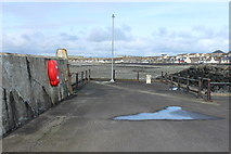 NX3343 : The Quay, Port William by Billy McCrorie