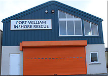 NX3343 : Port William Inshore Rescue by Billy McCrorie