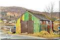 NG4843 : Corrugated shed by Tiger