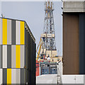 J3576 : Rig and buildings, Belfast by Rossographer