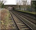 SJ3043 : Road bridge NE of Ruabon railway station by Jaggery