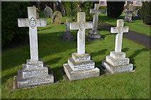 SK8354 : Grave of Constance Penswick Smith, Coddington church by Julian P Guffogg