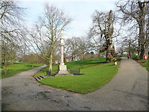 TM1645 : The Martyrs' Memorial, Christchurch Park, Ipswich by Humphrey Bolton
