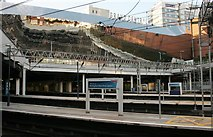 SP0786 : Reflections, Birmingham New Street Station by Richard Sutcliffe